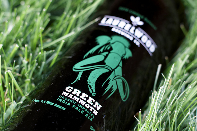 Green Mammoth Imperial India Pale Ale from Laurelwood Brewing