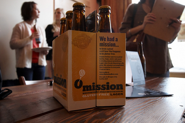 Omission Gluten-Free Beer from Craft Beer Alliance