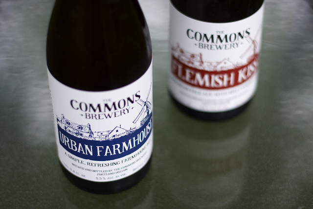 Urban Farmhouse and Flemish Kiss from The Commons Brewery
