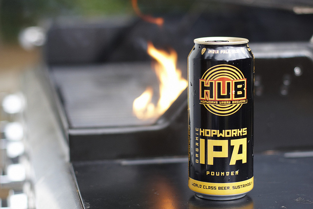 IPA from Hopworks Urban Brewery