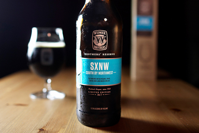 SXNW from Widmer Brothers Brewing