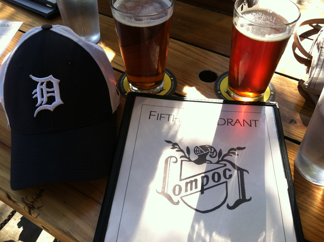 Roar of '84 IPA and Oktoberfest at the Fifth Quadrant
