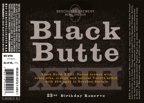 Deschutes Brewery Black Butte XXIII