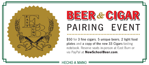 Beer and Cigar Pairing