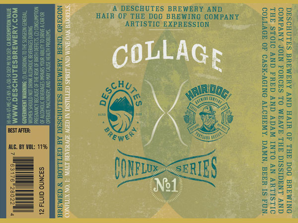 Collage Collaboration from Deschutes Brewery and Hair of the Dog Brewing