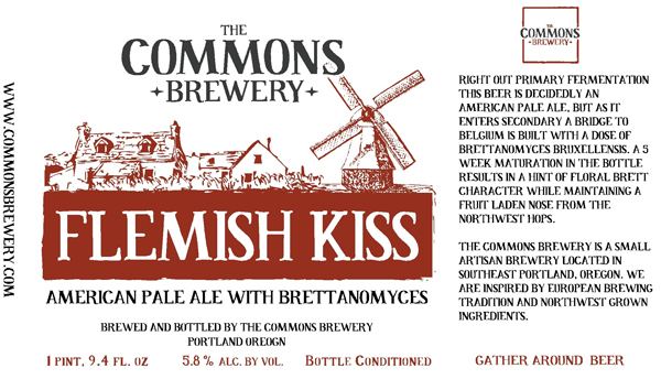 Flemish Kiss from Commons Brewery