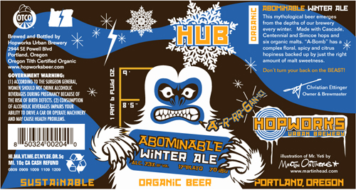 Hopworks Urban Brewing Abominable