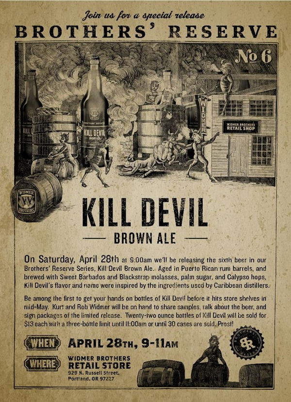Kill Devil Brown Poster
