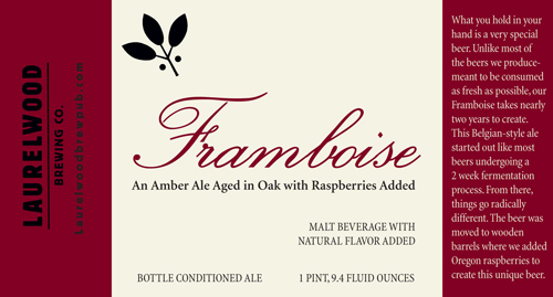 Laurelwood Brewing Framboise