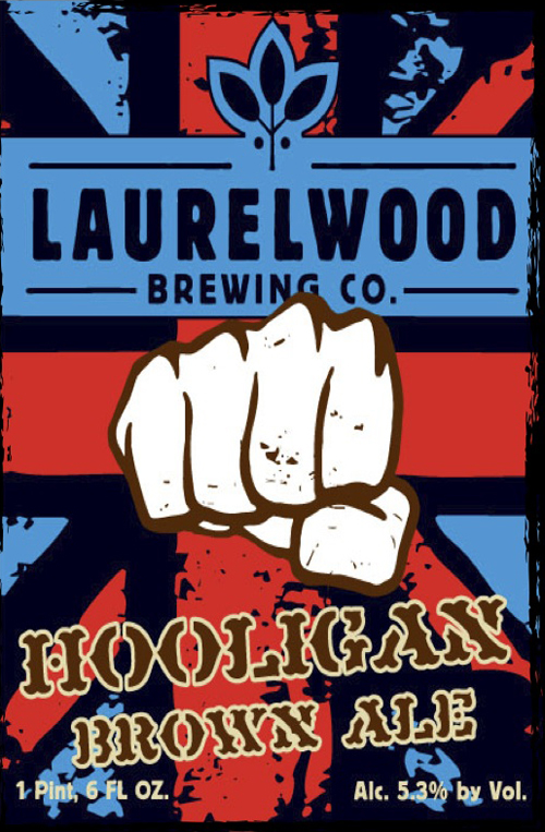 Laurelwood Brewing Hooligan Brown