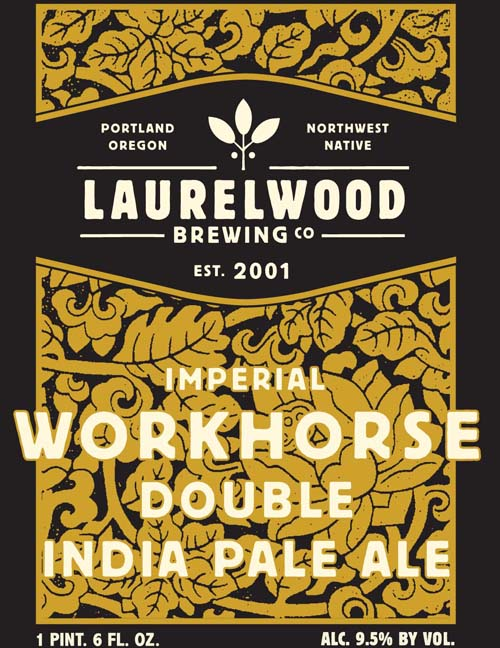 Laurelwood Brewing Imperial Workhorse