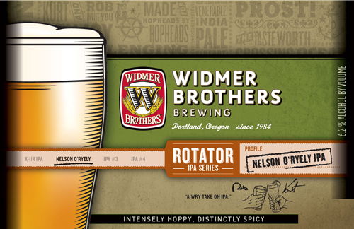 Widmer Brothers Nelson O'Ryely IPA