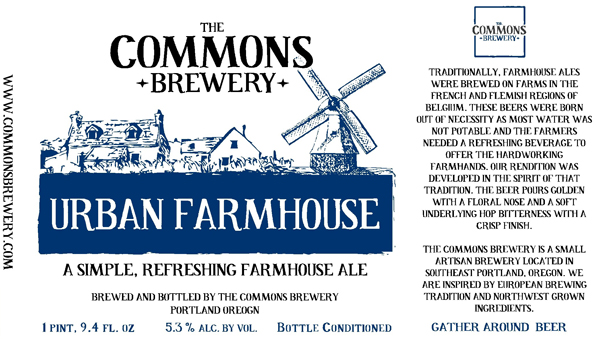 Urban Farmhouse from Commons Brewery