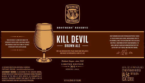 Widmer Kill Devil Brown Ale