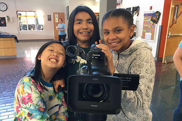 #FutureFilmmakers of The Portland Film Festival partnership with Boys & Girls Club of Portland