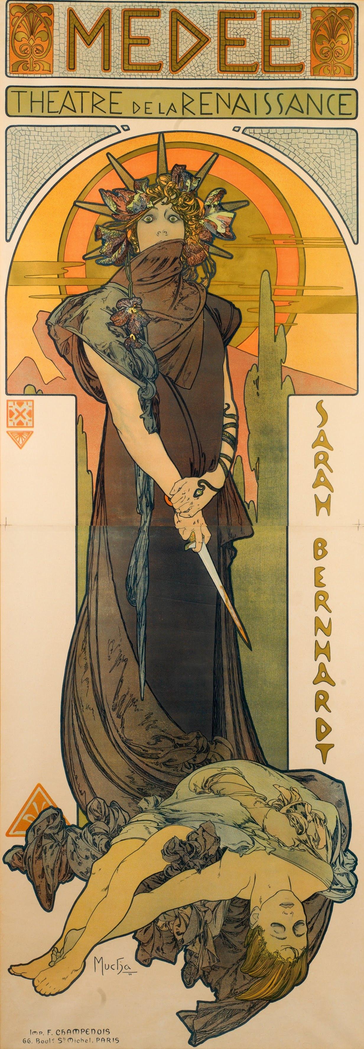 7 Médée By Alphonse Mucha 1898