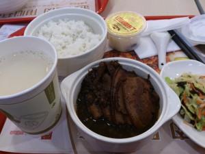 梅菜焢肉飯