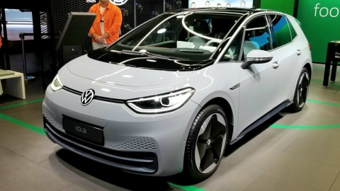 VW ID3 electric car debut