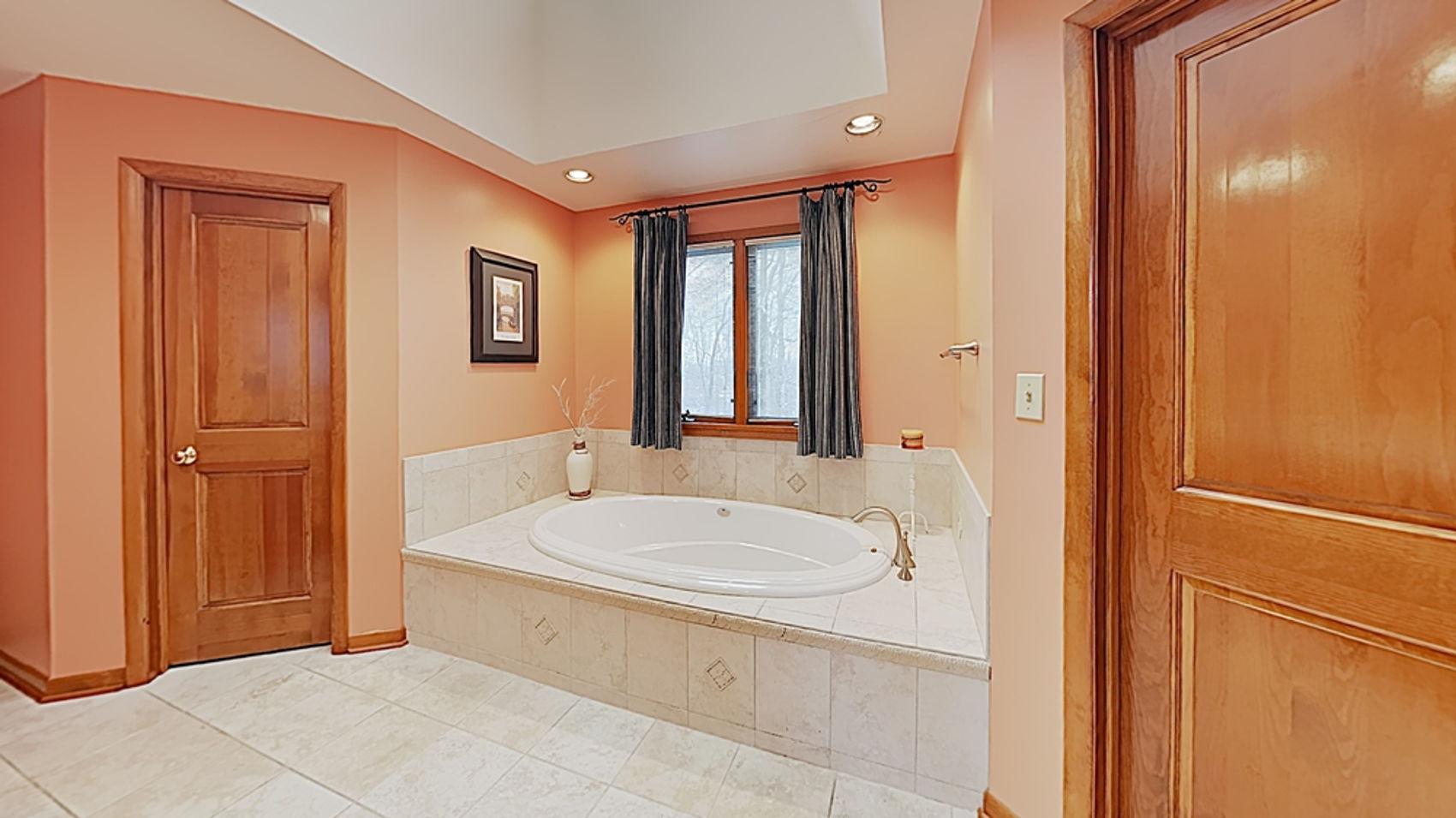 Master Bath with dual walk-ins