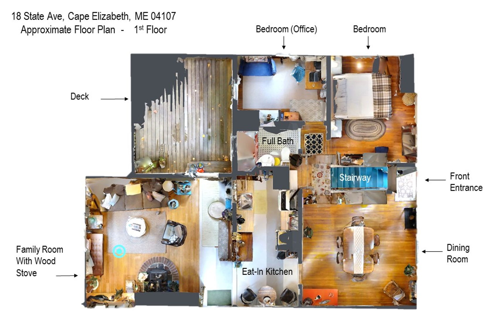 Floorplan from above