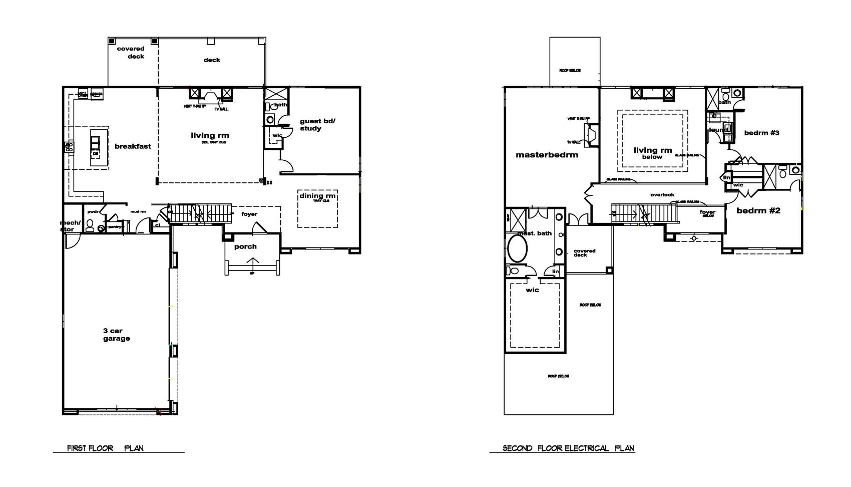 Floor Plan - Upper and Lower