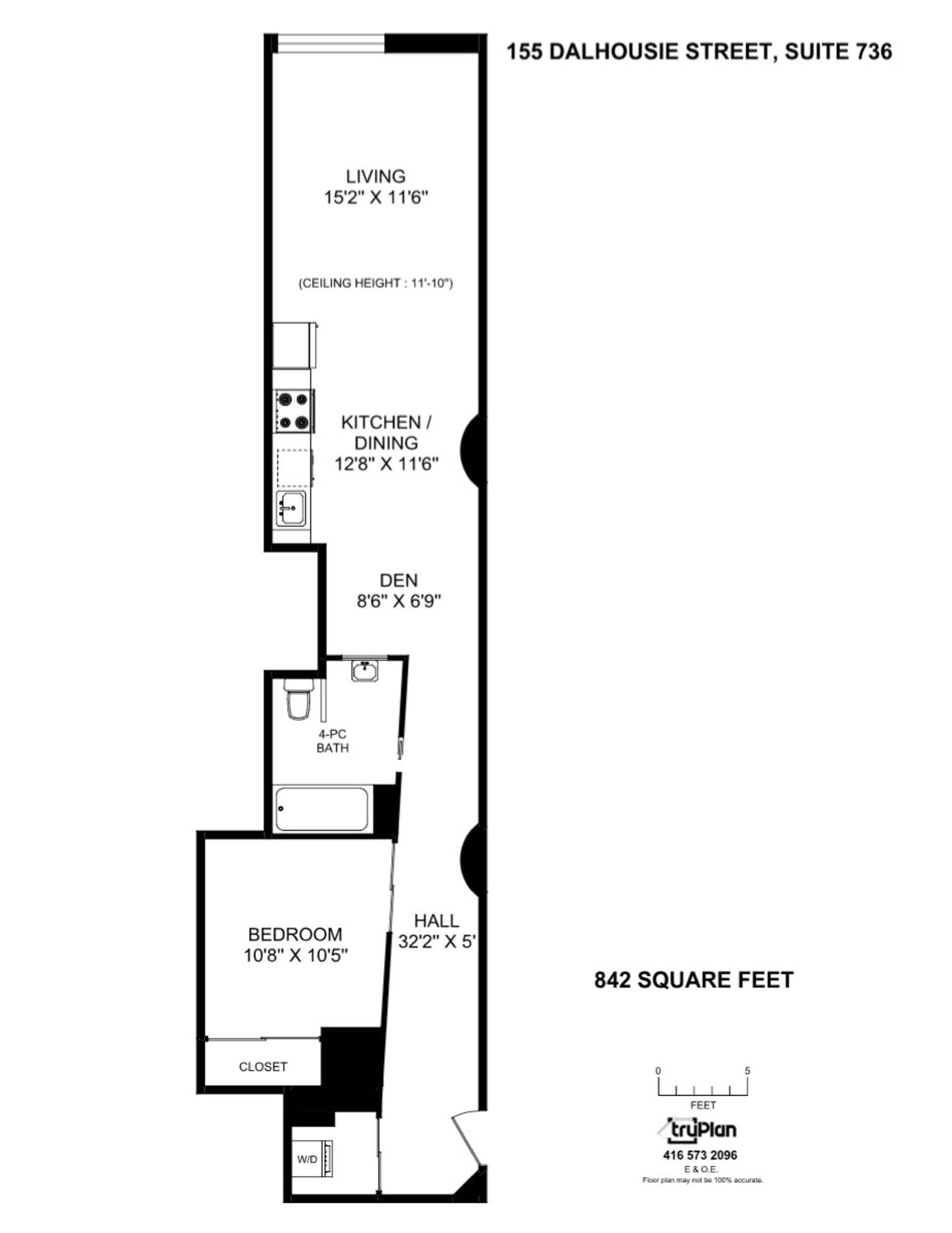 736-155 Dalhousie Floor Plan