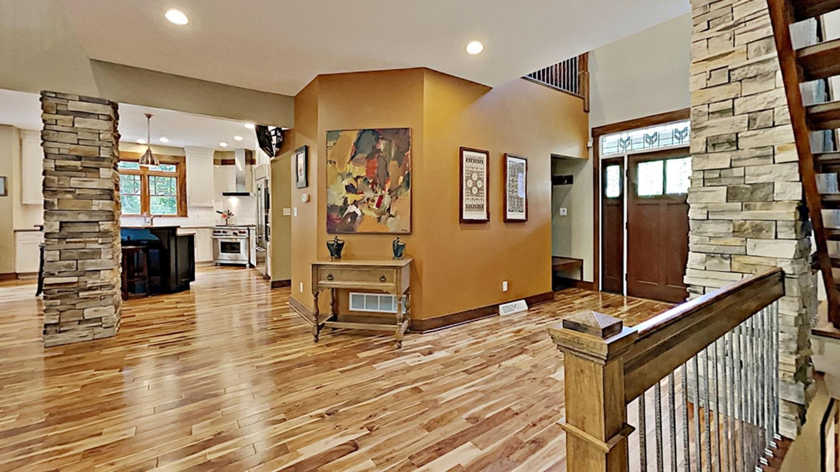 Asian Bistro Walnut flooring