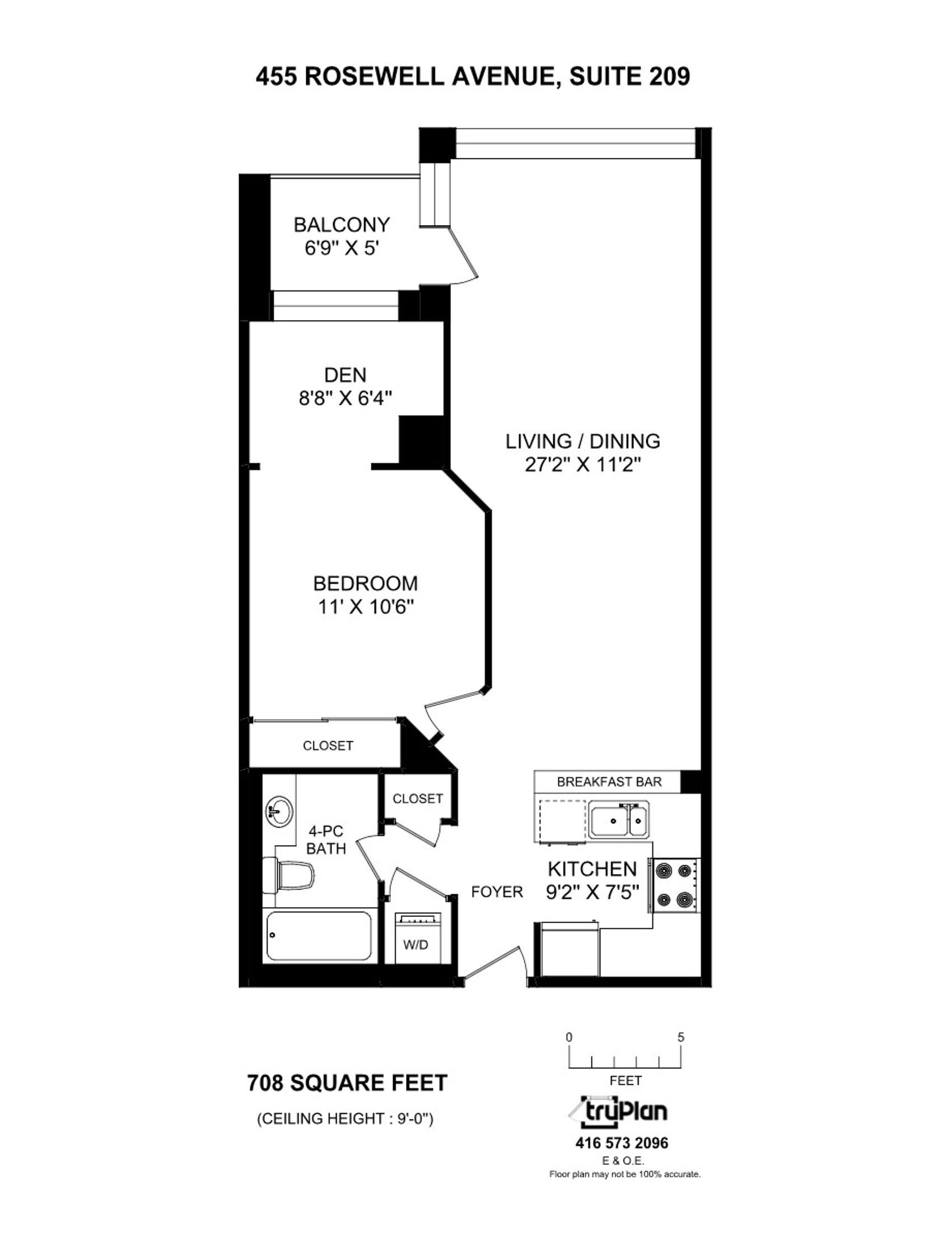 209-455 Rosewell Floor Plan