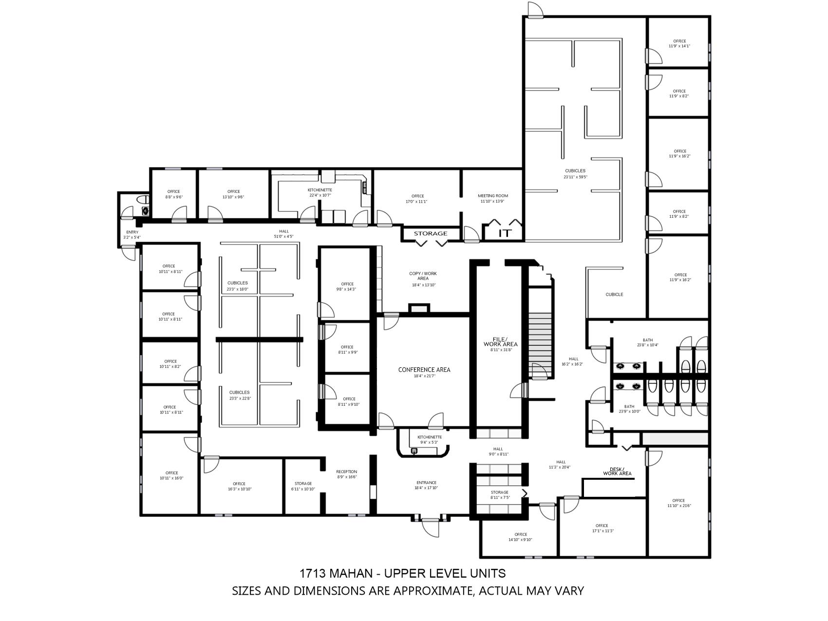 1713 Mahan Upper UnitsFloor Plan