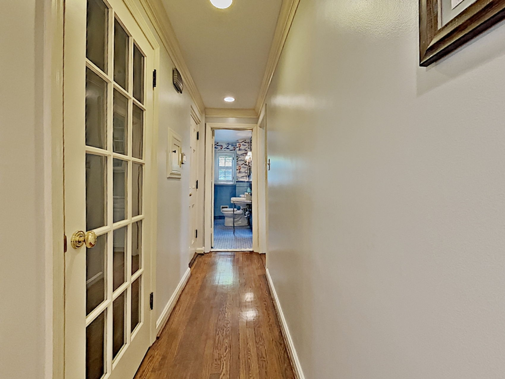 Rear hallway