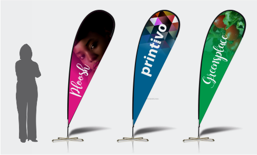 teardrop banner template - order your flex banners now with ease best prices free