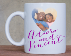 Branded Wedding Mugs With photo