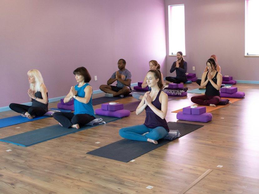 Zoom Chair Yoga Basics Free Class In Danbury Ct Us Mindbody