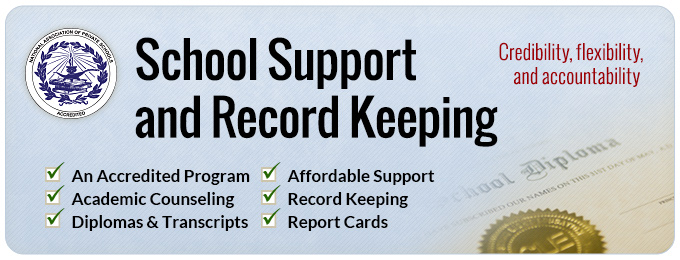 School Support & Record Keeping