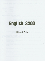 English 3200 lu tests