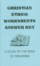 Christian ethics worksheets ak