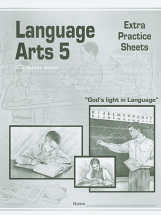 Language arts 5 extra practice sheets