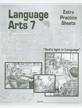 Language arts 7 extra practice sheets