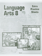 Language arts 8 extra practice sheets