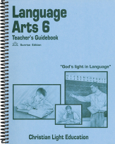 Language arts 6 tg