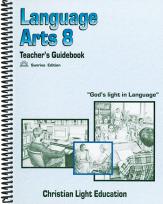 Language arts 8 tg