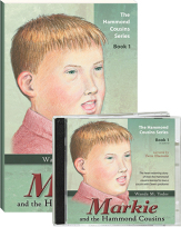 Markie and the hammond cousins cd book set