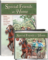 Special friends at home cd book set