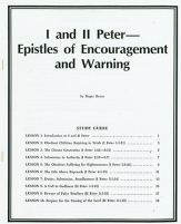 1 and 2 peter study guide