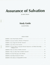 Assurance of salvation study guide