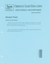 God s world his story outline maps