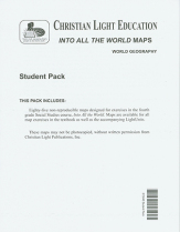 Into all the world outline maps