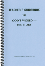 God s world his story tg