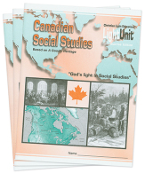 Canadian social studies 7 lu set