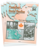 Canadian social studies 8 lu set
